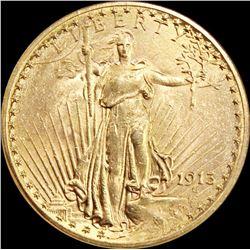 1913 $20 GOLD LIBERTY
