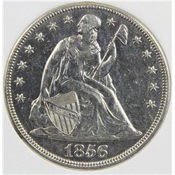1856 SEATED DOLLAR