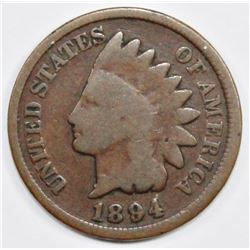 1894/94 INDIAN CENT