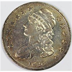 1836 BUST HALF DOLLAR