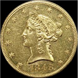 1848 $10 GOLD