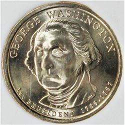 2007 GEORGE WASHINGTON DOLLAR ERROR