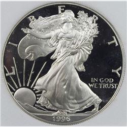 1996-P AMERICAN SILVER EAGLE