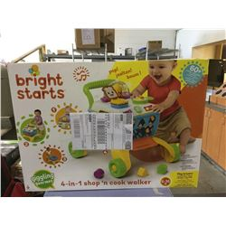 Bright Starts 4-in-1 Shop n' Cook Walker Toy