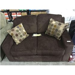 NEWLandenSofa and Love Seat Set w/ Throw Pillows (love seat is shown, sofa is still wrapped in plast