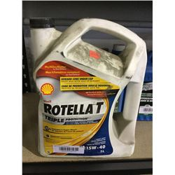 Shell Rotella Triple Protection 15W-40 Diesel Engine Oil 5L