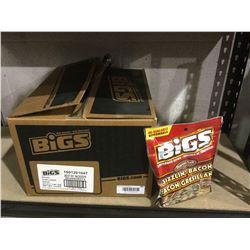 Case of Bigs Sizzlin' Bacon Sunflower Seeds (24 x 140g)