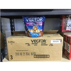 Case of Vector Coffee Nut Protein Bites (8 x 170g)
