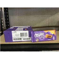 Milka Caramel Milk Chocolate Bars (23 x 100g)