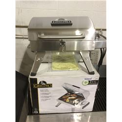 NEW Grill Pro Stainless Electric BBQ