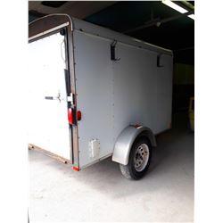 TNT Utility Trailer 8' x 5.5' single axle with ramp door