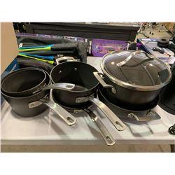 Lot of 7 sauce pans