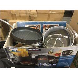 Kirkland cookware set