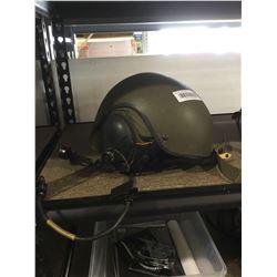 Vintage Army pilot helmet