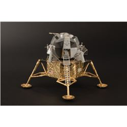 "[Apollo 11]. Aldrin, Edwin E. ""Buzz"" Jr. Signed Prop Apollo 11 Lunar Excursion Module."