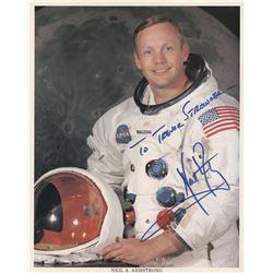 """[Apollo 11]. Aldrin, Edwin E. """"Buzz"""" Jr., Neil Armstrong, & Michael Collins. (3) signed NASA prints."""