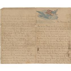 [Civil War]. Civil War autograph historical manuscript, Battle of Malvern Hill (ca. 1862).