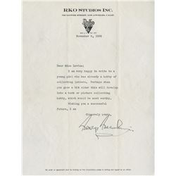 Gershwin, George. Typed letter signed, 5 November, 1936