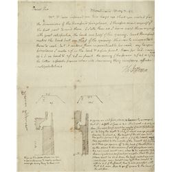 Jefferson, Thomas. Autograph letter signed, Monticello, 2 May 1799.