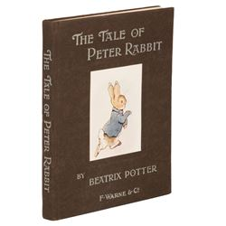 Potter, Beatrix. The Tale of Peter Rabbit. First Trade Edition.