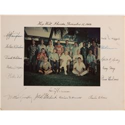"Truman, Harry S. Photograph signed ""Key West, Florida, November 11, 1948."