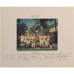 "Truman, Harry S. Photograph signed, ""Key West, Florida, March 26, 1952""."