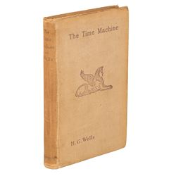 Wells, H.G. The Time Machine. First Edition with Wells autograph letter signed, 16 October, 1941.