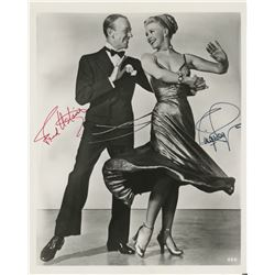 Fred Astaire and Ginger Rogers signed photograph.