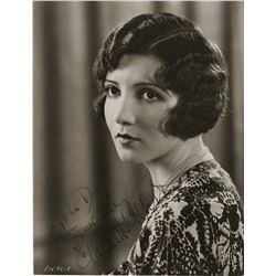 Claudette Colbert (2) signed photographs.