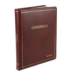 Walt Disney personal hand annotated script for Cinderella.