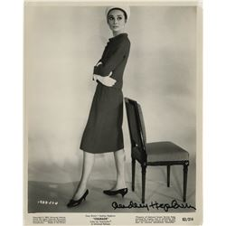 Audrey Hepburn signed photograph from Charade by Bud Fraker.