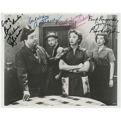 The Honeymooners cast signed photograph and Art Carney signed photograph.