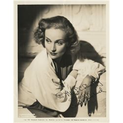 Carole Lombard typed letter signed and signed photograph from True Confession.