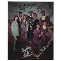 Lost in Space cast signed photograph.