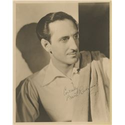 Basil Rathbone autograph signed letter to Samuel Goldwyn and related telegrams and documents.