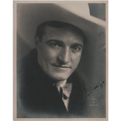 Early cowboy stars (3) signed photographs including Tom Mix, William S. Hart, and William Boyd.