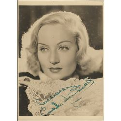 Classic Hollywood stars (15) signed photographs of Carole Lombard, W.C. Fields, Stan Laurel & more.