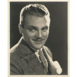 Acclaimed actors (8) signed photographs including James Cagney, Leslie Howard and Charles Laughton.