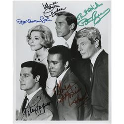 Action/Adventure TV shows (4) signed photographs from The Fugitive, Mission Impossible, and more.
