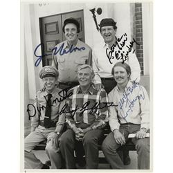 Classic sitcoms (6) signed photographs from All in the Family, Taxi, The Andy Griffith Show & more.