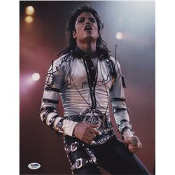 Pop Icons (3) signed oversize color photographs including Michael Jackson and Aretha Franklin.
