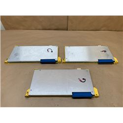 (3) Fanuc A16B-2200-0761/01A 1MB RAM File Boards