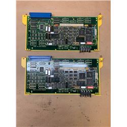 (2) Fanuc A16B-2200-0310 PC Boards