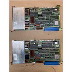 (2) Fanuc A16B-1211-0091/05C PCB Boards