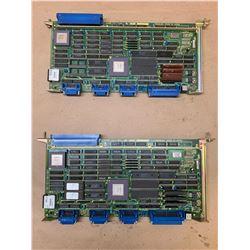 (2) Fanuc A16B-1211-0860/05A Control Boards