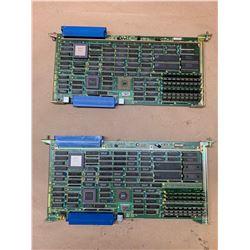 (2) Fanuc A16B-1211-0042 RAM Board