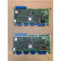 (2) Fanuc A16B-1211-0860 Control Boards