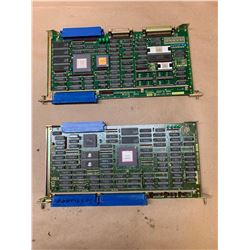 (2) Fanuc Circuit Boards *See Pics for Part Numbers*