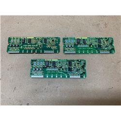 (3) Fanuc A20B-2900-0630 Daughter Boards