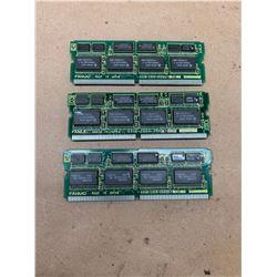 (3) Fanuc A20B-2900-0500 Daughter Boards